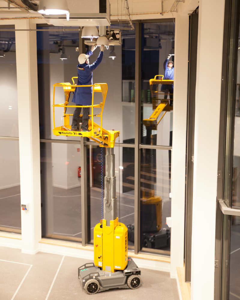 Alquiler plataformas elevadoras matriculadas