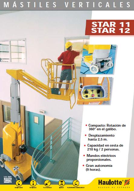 mastiles verticales star 11 12
